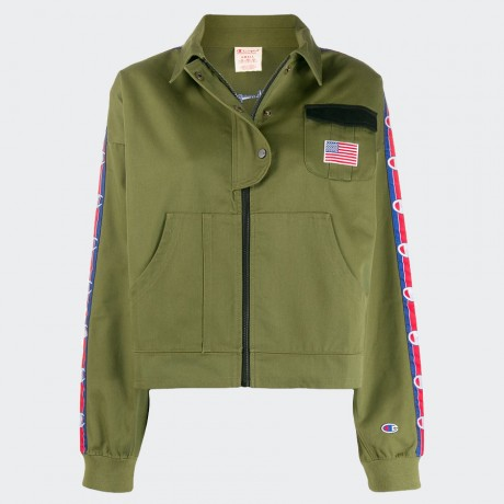 Champion - Reverse Weave Jacket Khaki