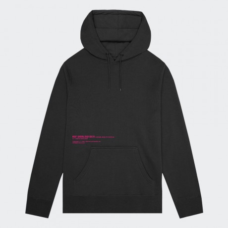 HUF - VIRTUAL REALITY PULLOVER HOODIE BLACK