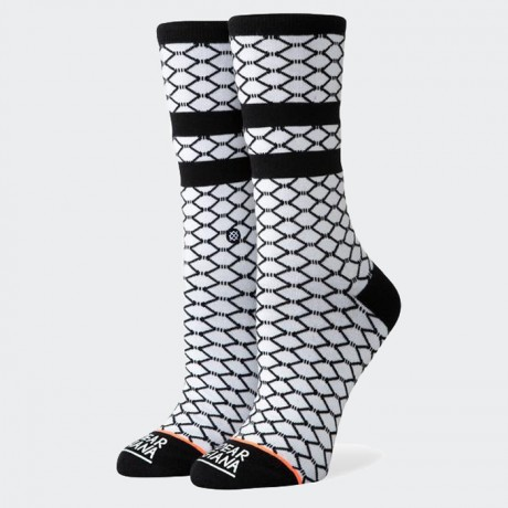 STANCE - FISH NETS WHITE