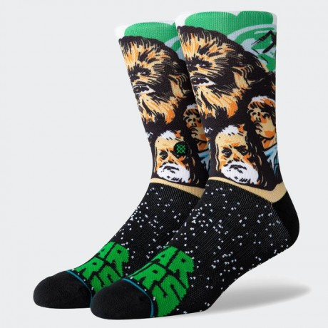 STANCE - CHEWBACCA GREEN