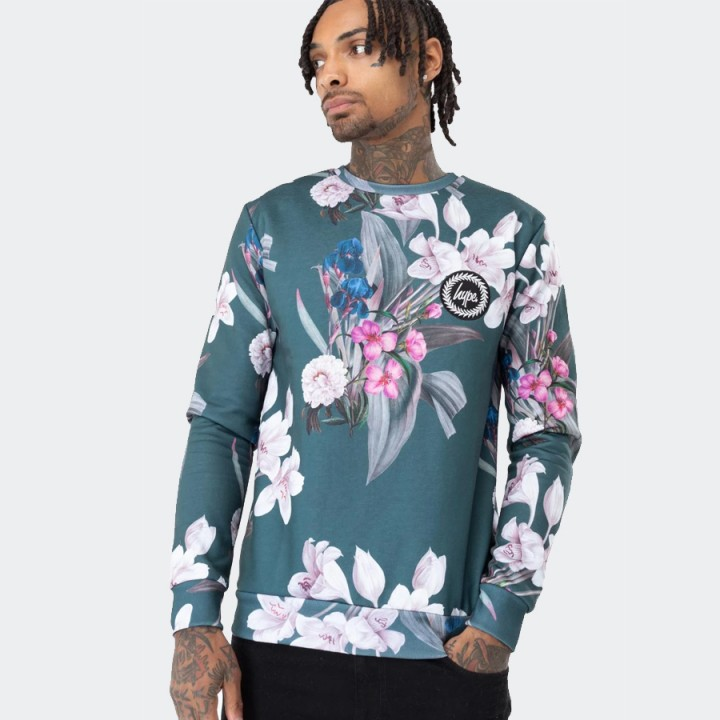 Just Hype - FOREST BLOSSOM MEN'S SWEATSHIRT