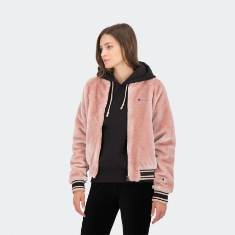 Champion - Reverse Weave Jacket Pink