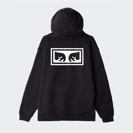 OBEY - Eyes 3 Basic Zip Hood Fleece Black
