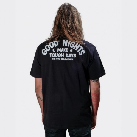 The Dudes - Good Nights T-shirt Black
