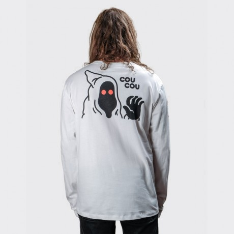The Dudes - Cou Cou Longsleeve T-shirt White