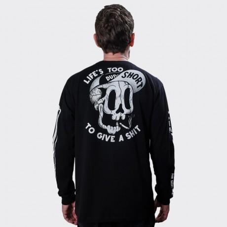 The Dudes - Too Short Smokes Longsleeve T-shirt Black