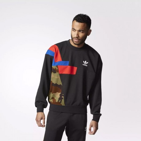 adidas originals - Colorblock Crew Sweatshirt