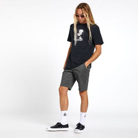 Volcom - FRICKIN MODERN STRETCH SHORTS CHARCOAL HEATHER