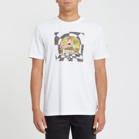 Volcom - SCHNIPPS T-SHIRT WHITE FLASH