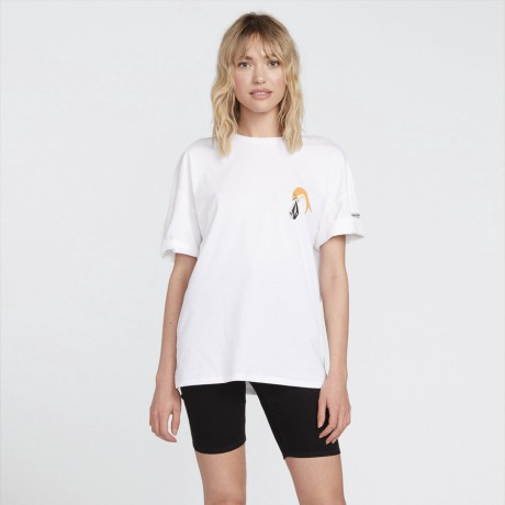Volcom - P. C. AYERS T-SHIRT WHITE FLASH