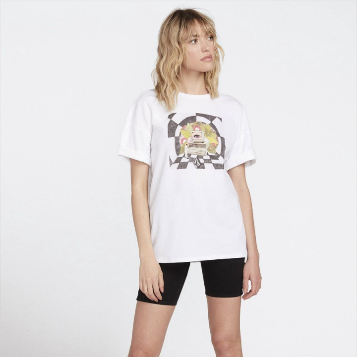 Volcom - SCHNIPS T-SHIRT WHITE FLASH