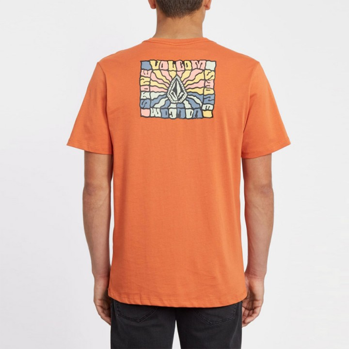 Volcom - DAYBREAK T-SHIRT BRIGHT ORANGE