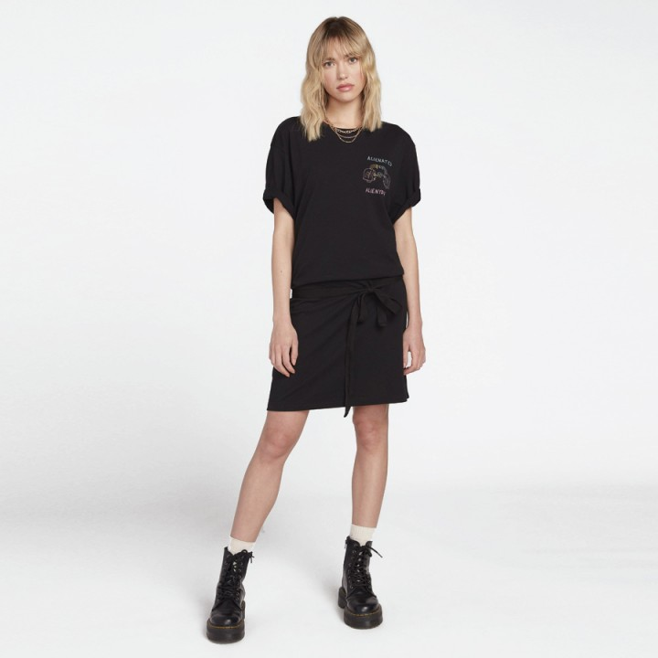 Volcom - OZZY ALIEN DRESS BLACK