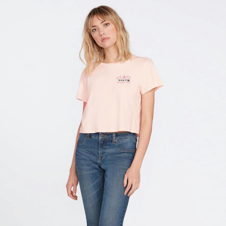 Volcom - OZZY T-SHIRT LIGHT PEACH