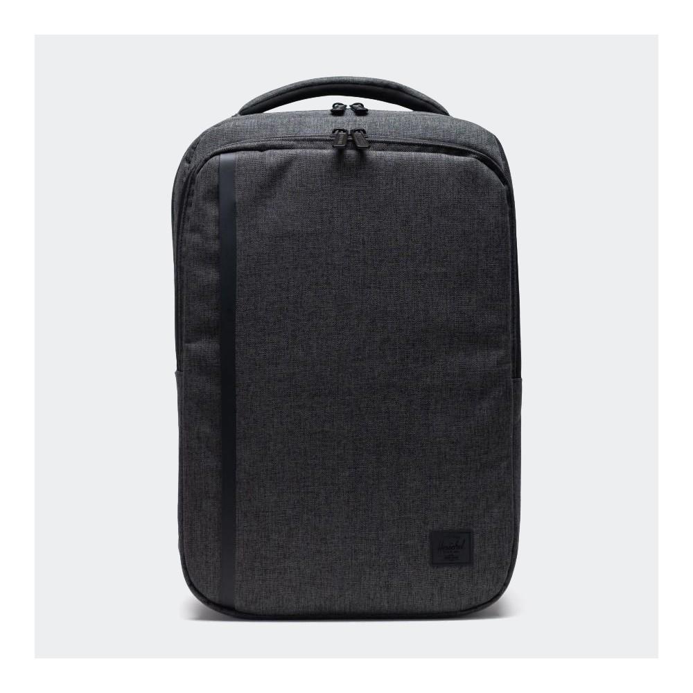Herschel Travel Backpack Black Crosshatch