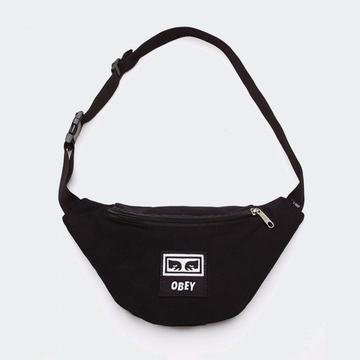 OBEY - WASTED HIP BAG BLACK