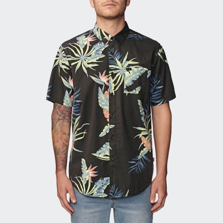 GLOBE - Paradise Found SS Shirt Black