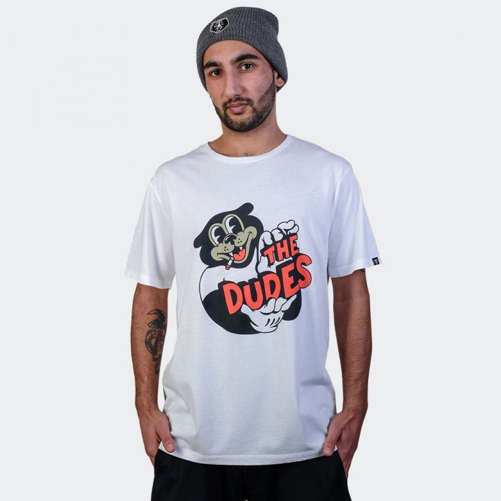 The Dudes - Patriot Tee Off White