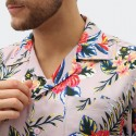 Dickies - Shiloh Short Sleeve Revere Shirt Violet