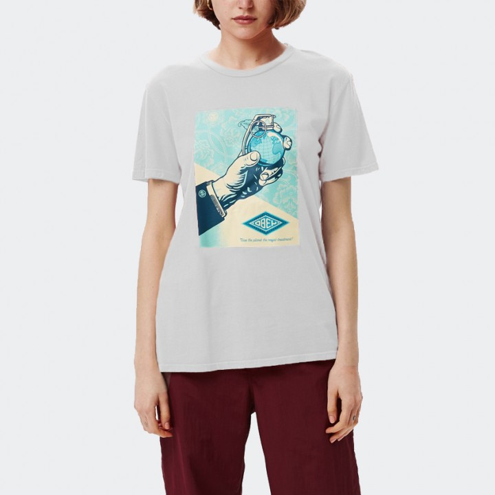OBEY - ROYAL TREATMENT CLASSIC TEE WHITE