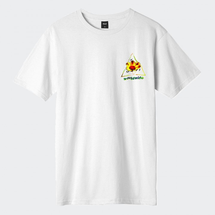 HUF - COME DOWN TT S/S TEE WHITE