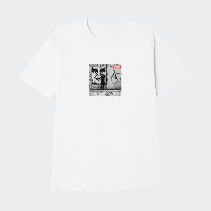 OBEY - THE MEDIUM IS THE MESSAGE CLASSIC TEE WHITE