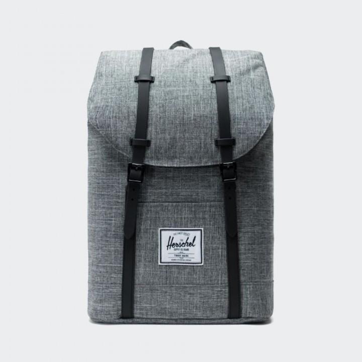 Herschel - Retreat Backpack Raven Crosshatch