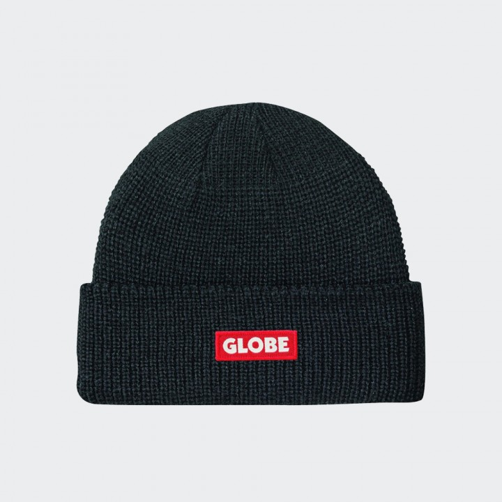 GLOBE - Bar Beanie Black