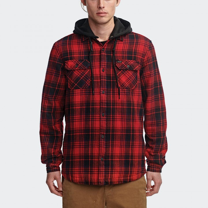 GLOBE - Alford III LS Shirt Oxblood