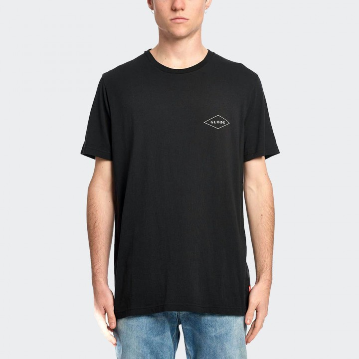 GLOBE - Check Out Tee Black