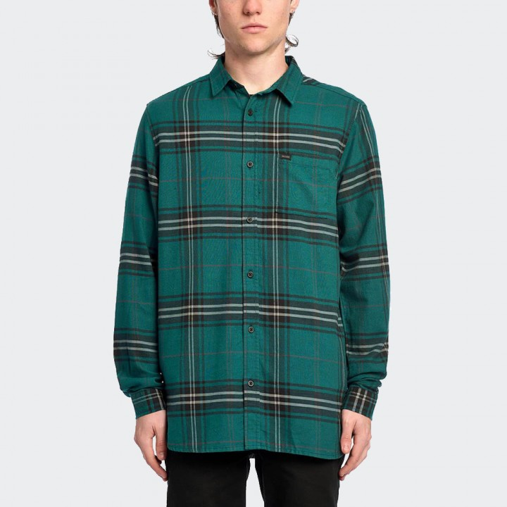 GLOBE - Dock LS Shirt French Blue