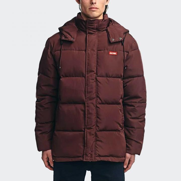 GLOBE - Ignite Puffer Jacket Ox Blood