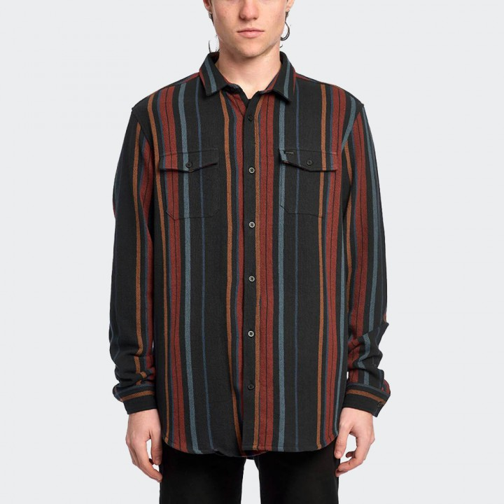GLOBE - Vertigo LS Shirt Rust