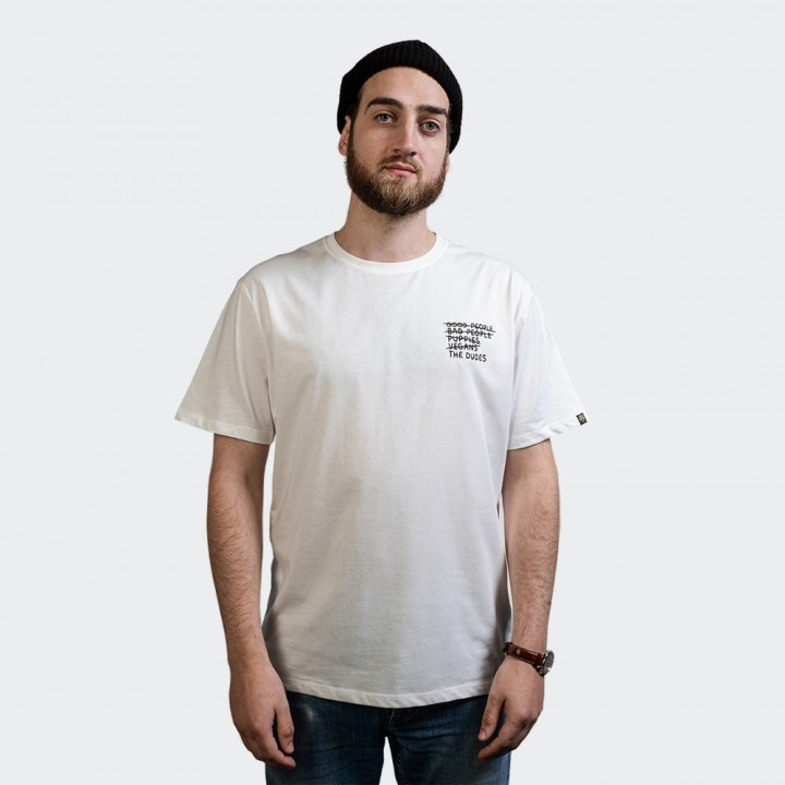 The Dudes - Nobody`s Safe Tee Off White