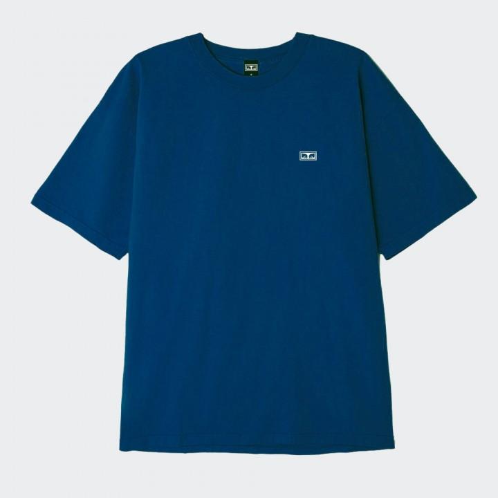 OBEY - EYES 3 HEAVYWEIGHT TEE BLUE SAPPHIRE