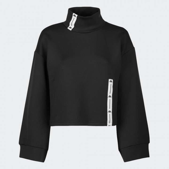 Kappa - Authentic Jpn Doxi Sweatshirt Black