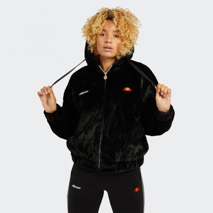 Ellesse - Giovanna Faux Fur Jacket Black