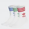 adidas Originals - Mid Cut Crew Socks 3 Pairs