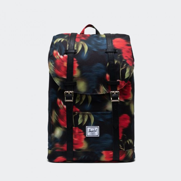 Herschel - Retreat Backpack Mid-Volume Blurry Roses