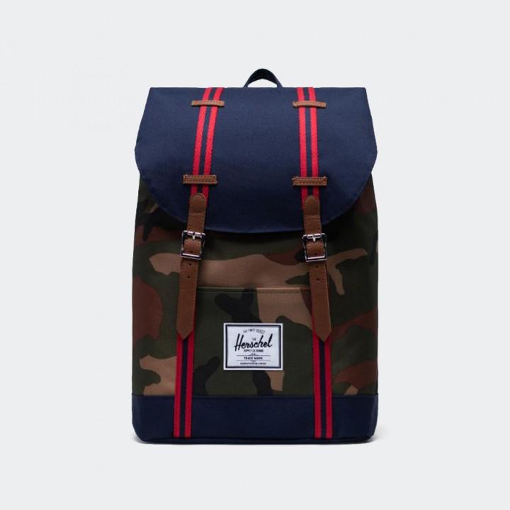 Herschel - Retreat Backpack Camo Peacoat