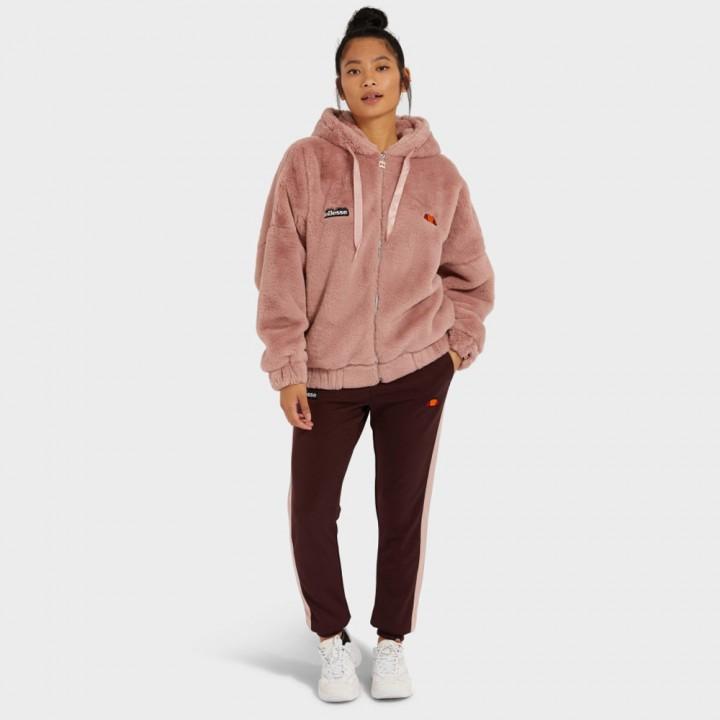 Ellesse - Giovanna Faux Fur Jacket Pink