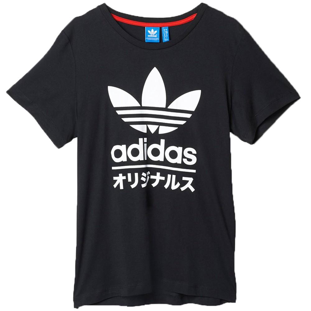 Originals Tee Japan Solid Typo Streetwear Adidas uTFc3K5l1J