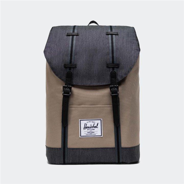Herschel - Retreat Backpack Timberwolf/Black Denim