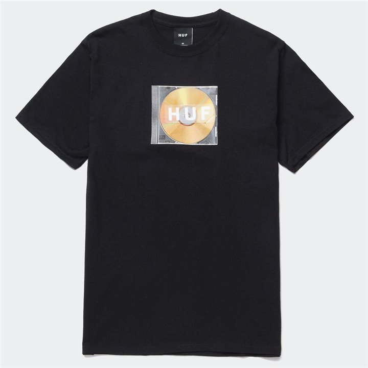 HUF - MIX BOX LOGO T-SHIRT BLACK