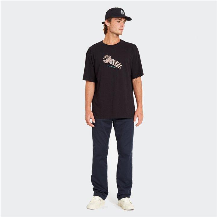 Volcom - STONE FACE T-SHIRT BLACK