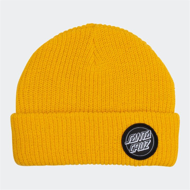 Santa Cruz - Outline Dot Beanie Yellow
